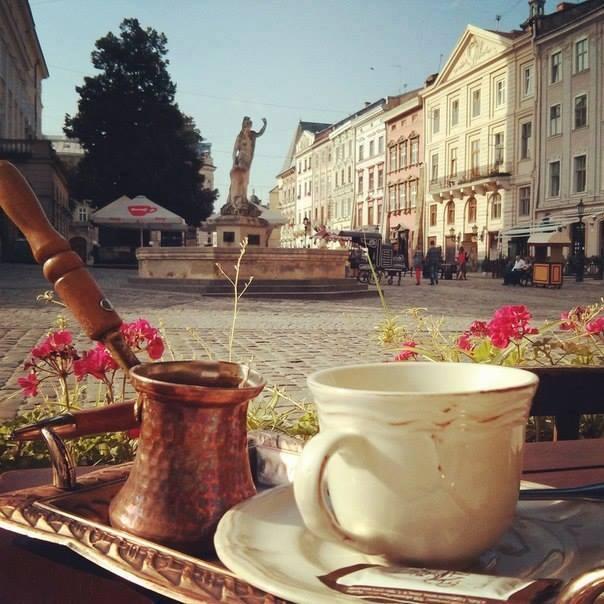 kawiarnie we Lwowie