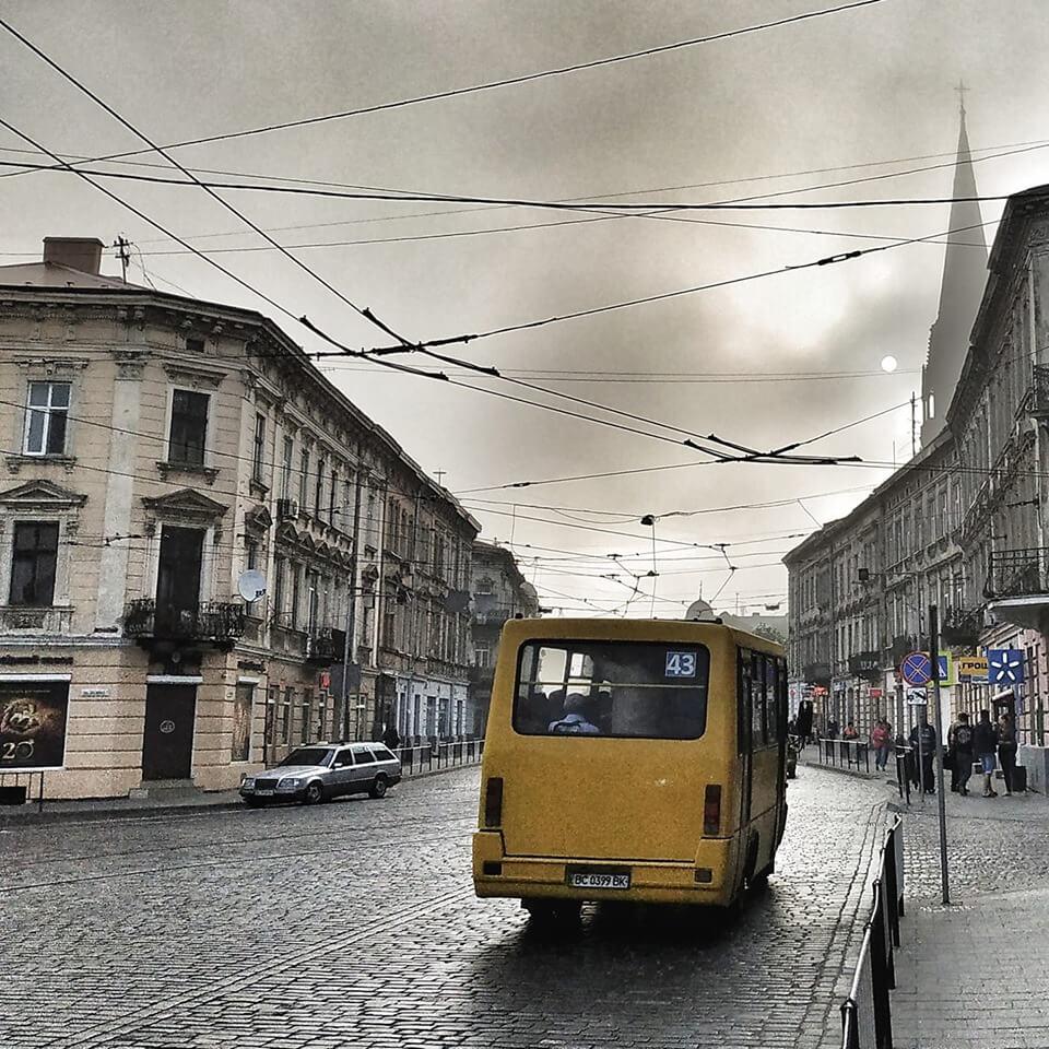 Komunikacja we Lwowie - marszrutki we Lwowie
