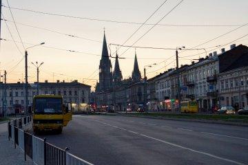 Parkingi we Lwowie