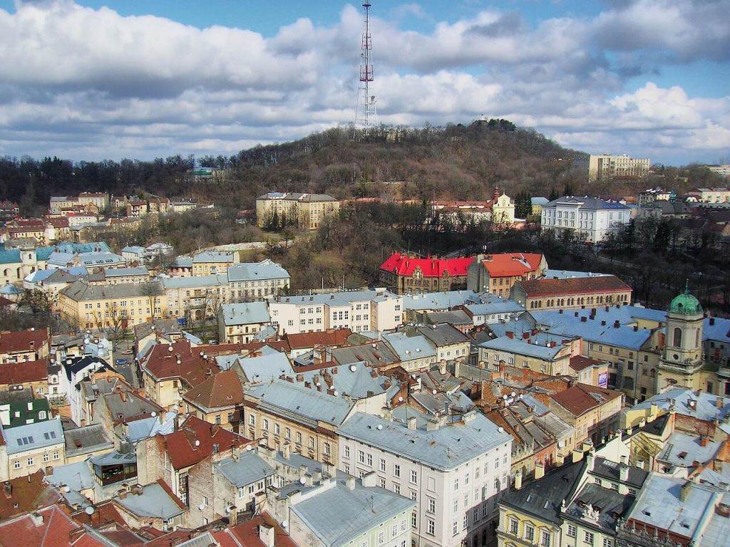 Dzień we Lwowie