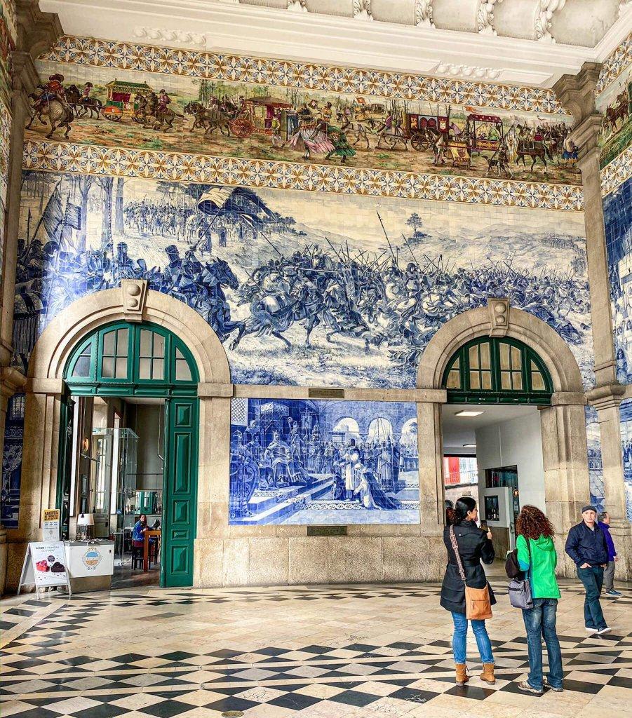 Dworzec Sao Bento Porto