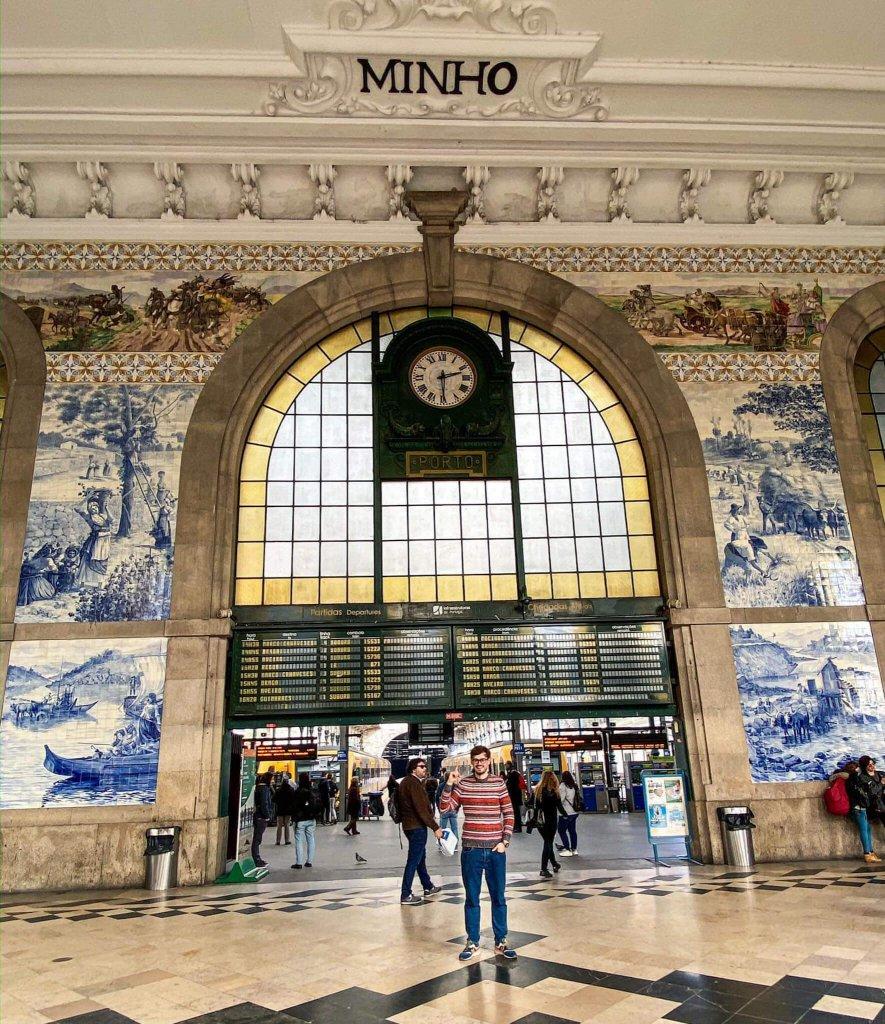 Atrakcje Porto Dworzec Sao Bento