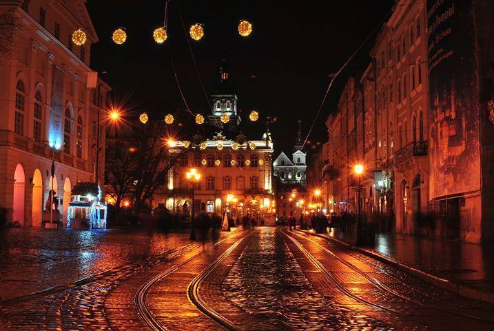 Lwów Rynek główny