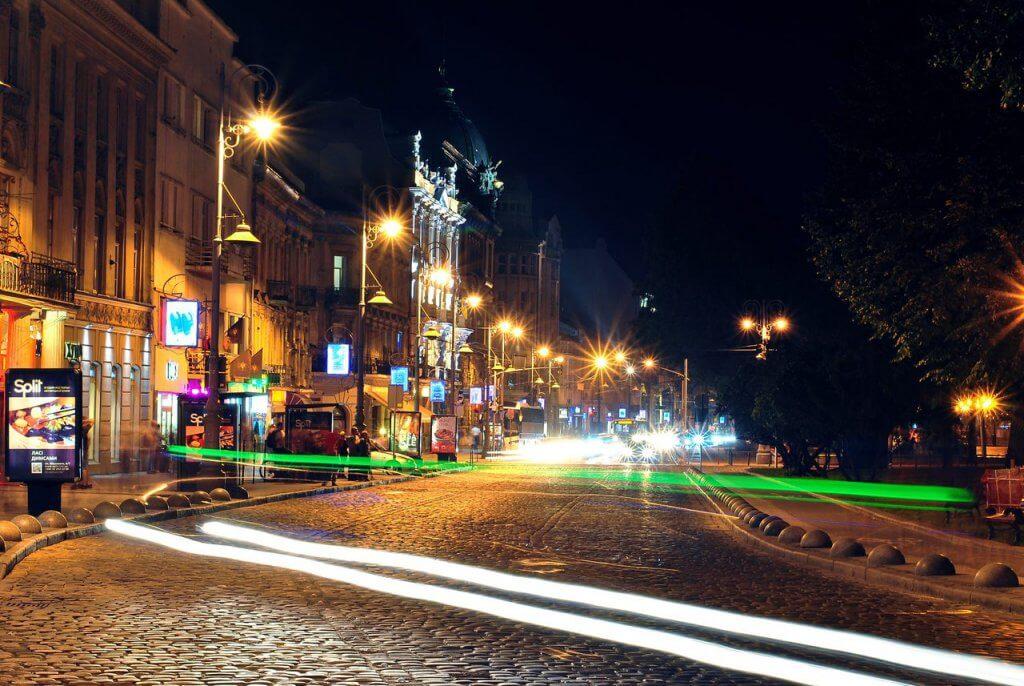 Prospekt Swobody we Lwowie
