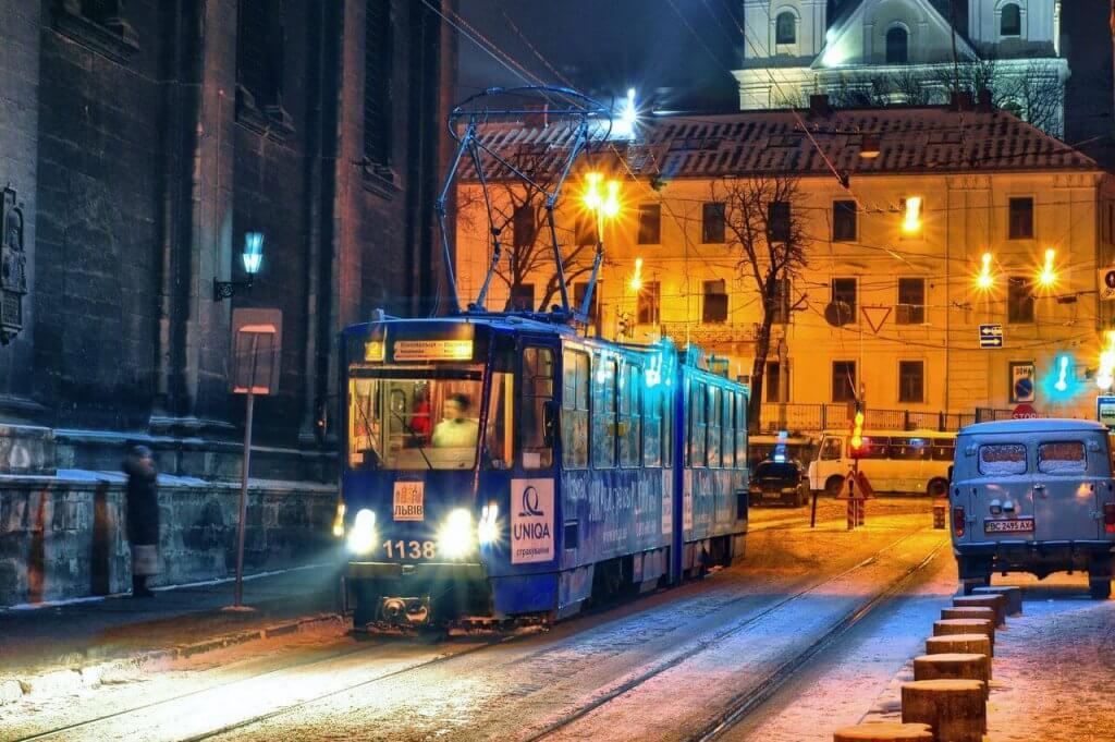 Lwów tramwaj