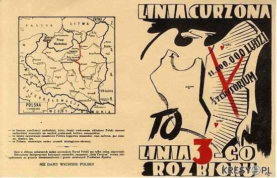 Polski Lwów Linia Curzona