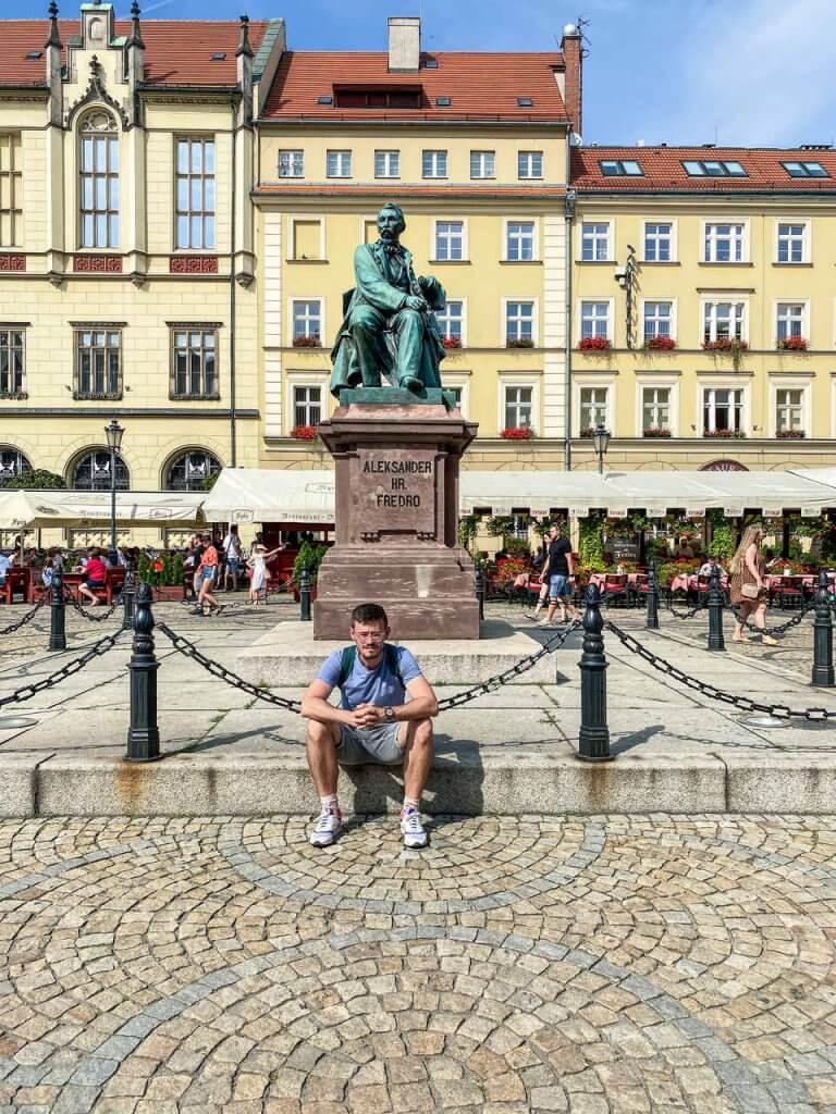 Pomnik Fredry Wrocław atrakcje