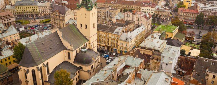 Koronawirus we Lwowie - Lwów w żółtej strefie
