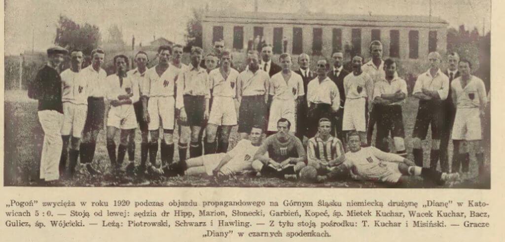 Pogoń Lwów i piłka nożna we Lwowie