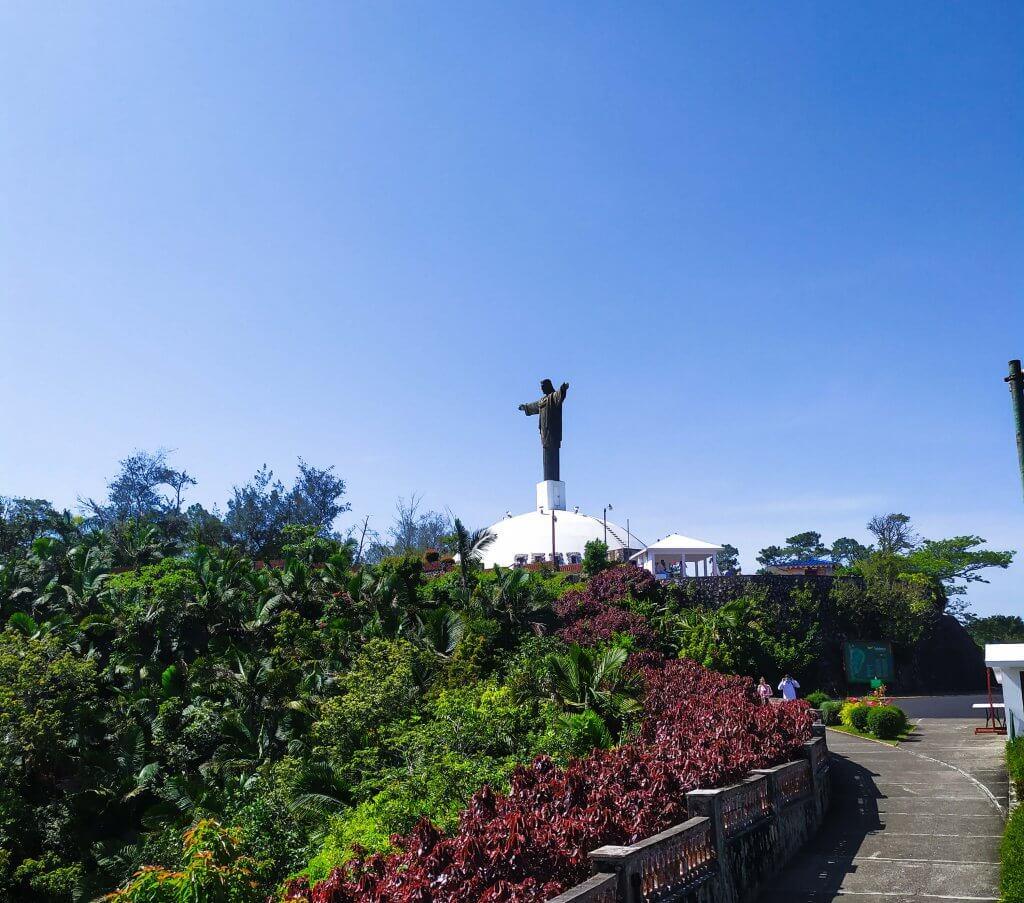 Posąg Jezusa Puerto Plata kolejka linowa