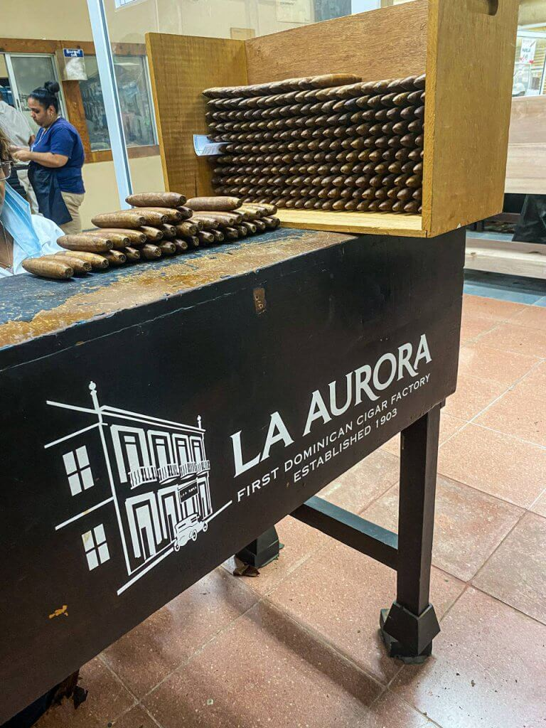 Dominikana atrakcje Fabryka cygar